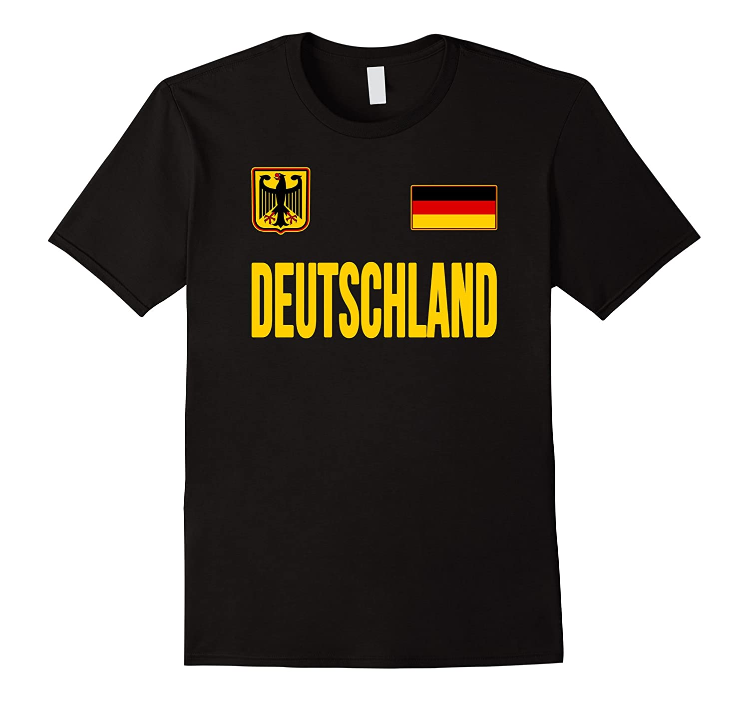 f70792f31 Deutschland T-shirt German Flag Germany Soccer Jersey Style-ah my shirt one  gift