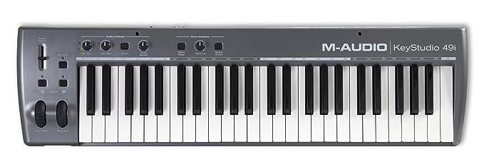Pinnacle KeyStudio 49i - Teclado MIDI (USB, Intel Pentium III 1GHz, 512 MB, Microsoft Windows XP SP2): Amazon.es: Informática