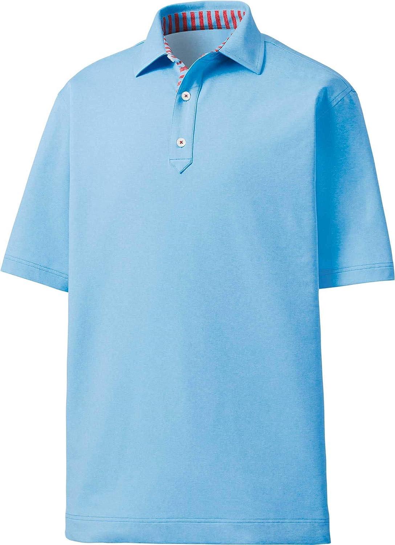 [フットジョイ] メンズ シャツ FootJoy Men's Heathered Solid Color Golf [並行輸入品] M  B07TD3SP3W