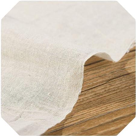 Tela decorativa | Tela de gasa de algodón de alta calidad para pañales para bebés o toallas para bebés Tela de costura de bricolaje 25 * 140 cm/pieza W300001-2-25x140cm (0.25 metros): Amazon.es: Hogar