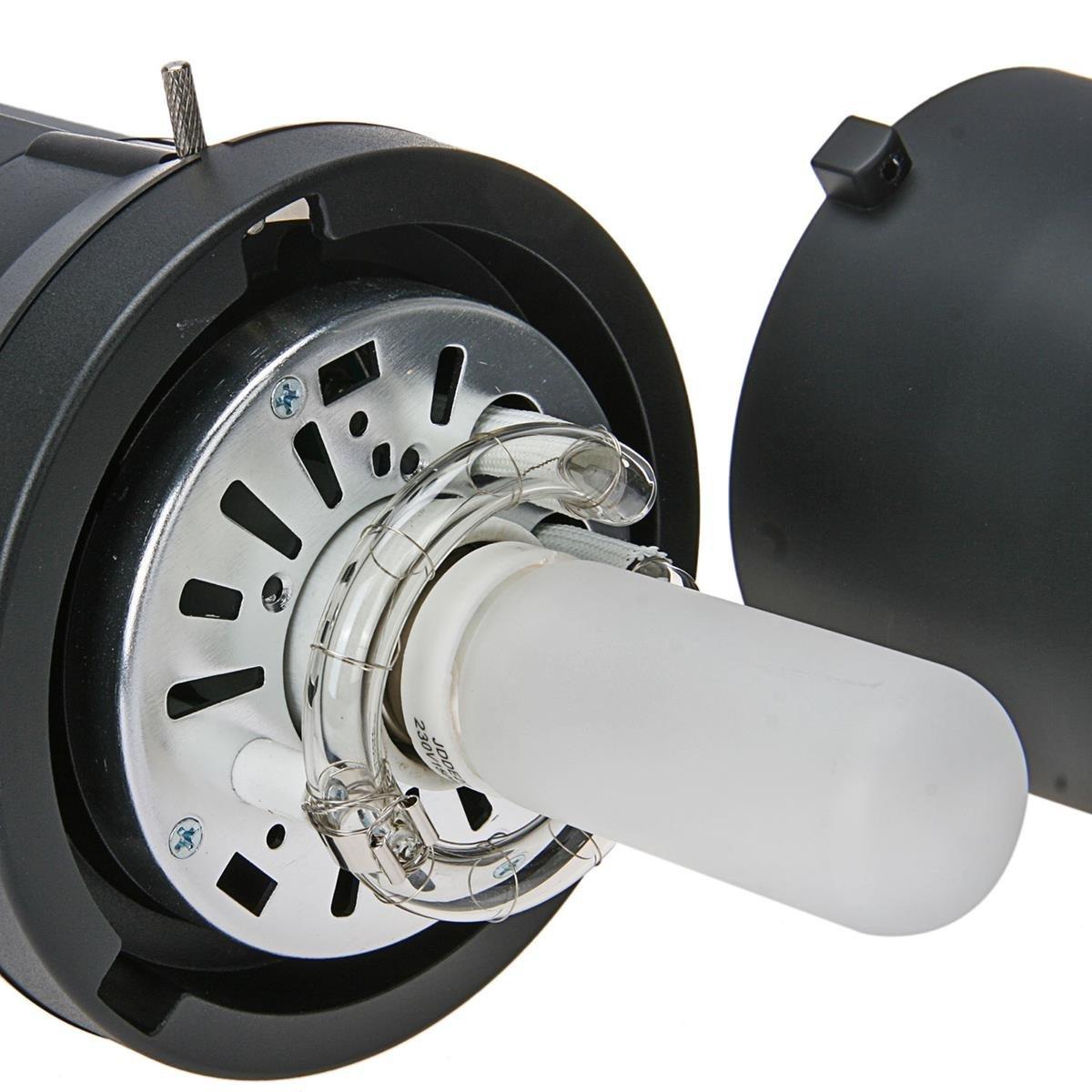 2/x Fomito 150/W 220/V-230/V Bombilla de tubo de flash para Photo Studio luz estrobosc/ópica Flash compacto