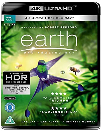 Earth - One Amazing Day UHD [Blu-ray] [2018]: Amazon co uk