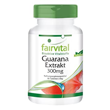 Extracto de Guaraná 300mg - VEGANO - Altamente dosificado ...