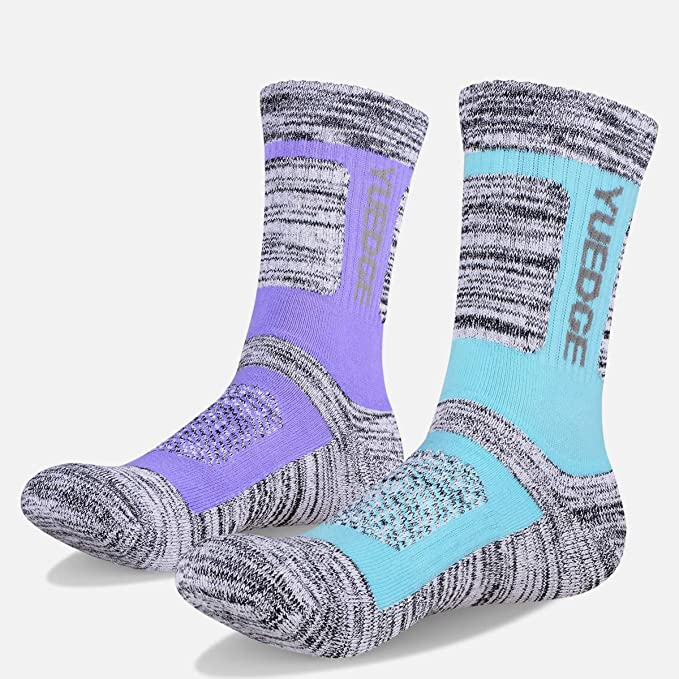 Purple Shall Casual Socks Cotton Crew Socks Crazy Socks For Sports And Travels