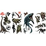 RoomMates Jurassic World: Fallen Kingdom Peel and Stick Wall Decals