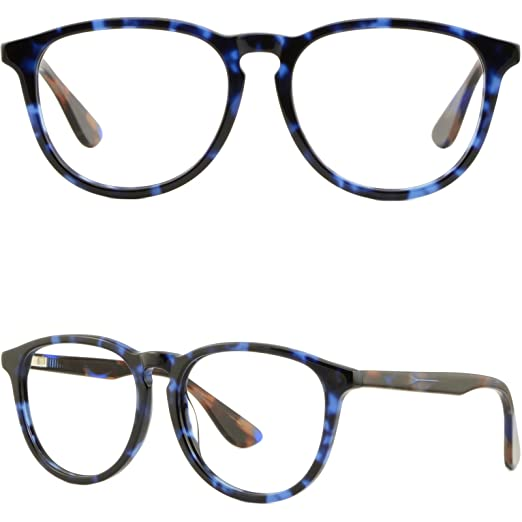 f14fbdc307e Image Unavailable. Image not available for. Color  Large Oversized Mens Womens  Frames Prescription Glasses Eyeglasses Spring Hinges