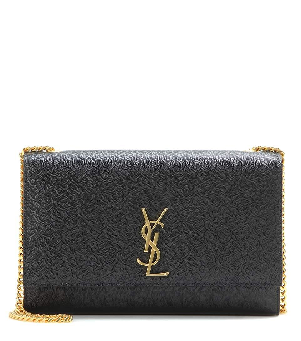 a39dcf7a640 Yves Saint Laurent Kate Black Shoulder Bag Classic New: Handbags: Amazon.com