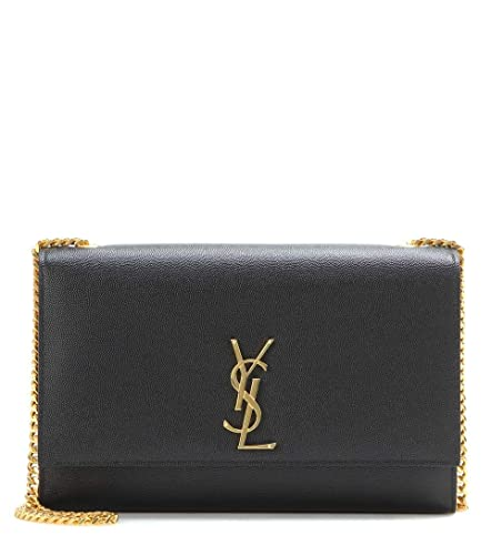 12061cf014 Yves Saint Laurent Kate Black Shoulder Bag Classic New: Handbags: Amazon.com