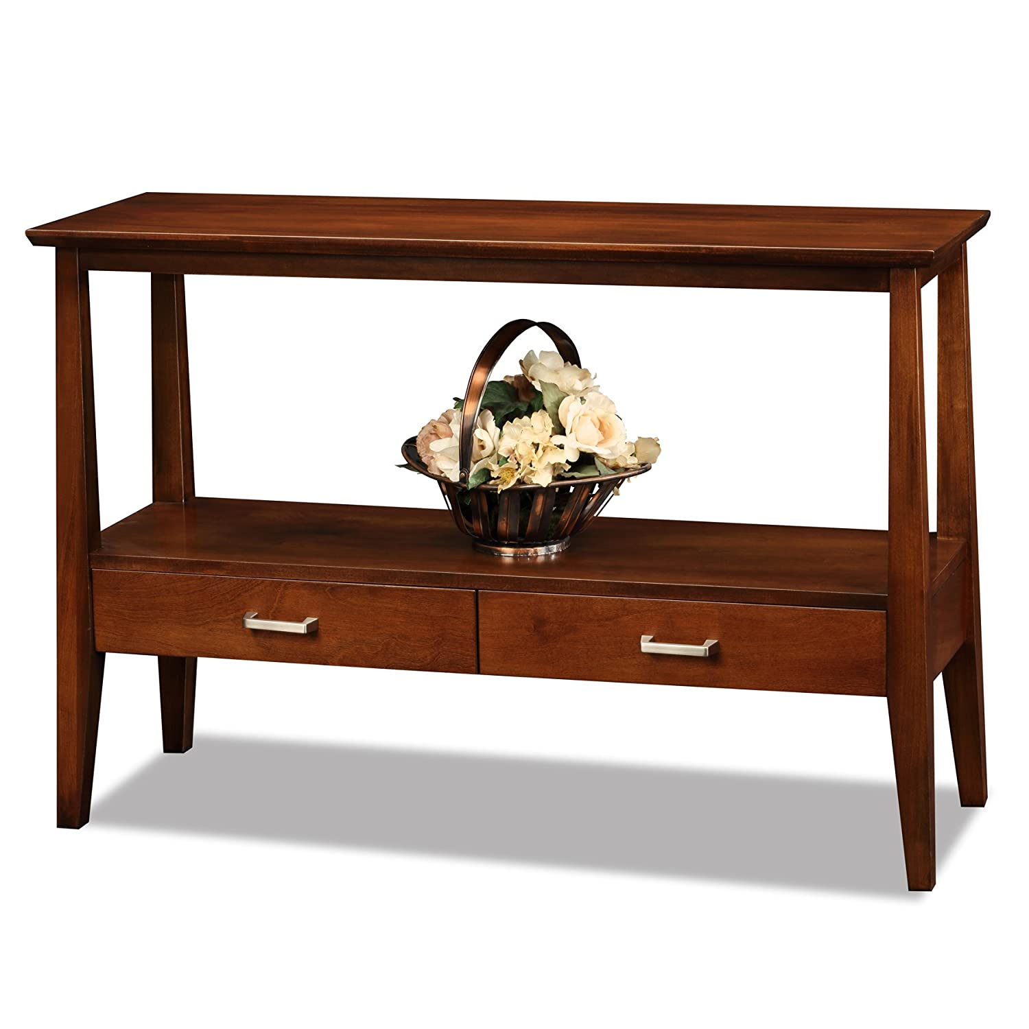 Amazon.com: Leick Delton Hall Console Table With Drawers: Kitchen U0026 Dining