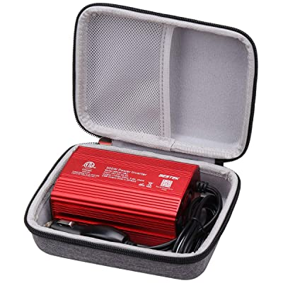 Aproca Grey Hard Protective Travel Storage Csae Bag for BESTEK 300W/Foval 150W Power Inverter Car Inverter: Car Electronics