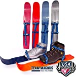 TEAM MAGNUS Snow skis for Kids as Used by USA Nordic