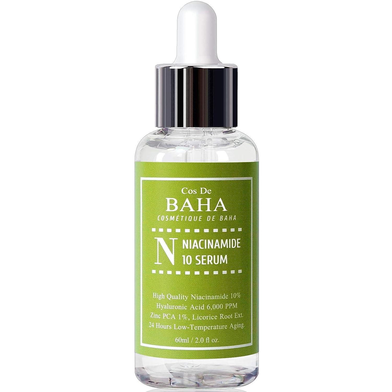 Amazon Com Niacinamide 10 Zinc 1 Serum For Face Pore Reducer Vitamin B3 For Brightening Uneven Skin Tone Treatment Diminishes Acne Prone Korean Skin Care 2oz Beauty