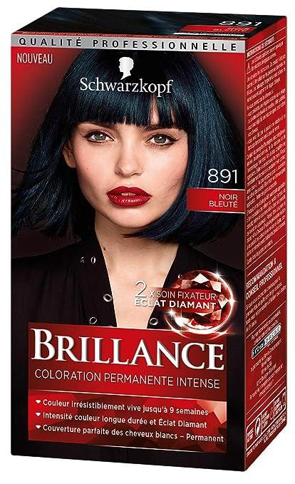 Colorer les cheveux en noir