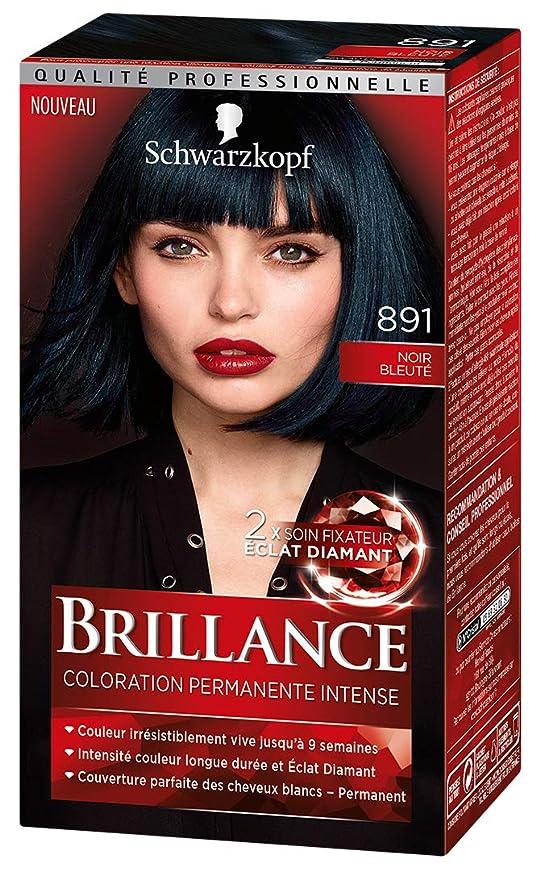 Coloration des cheveux blancs avec passage au noir