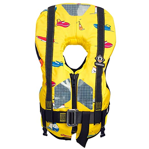 Crewsaver y navegación Chaqueta supersafe 150N LifeCoat con arnés ...