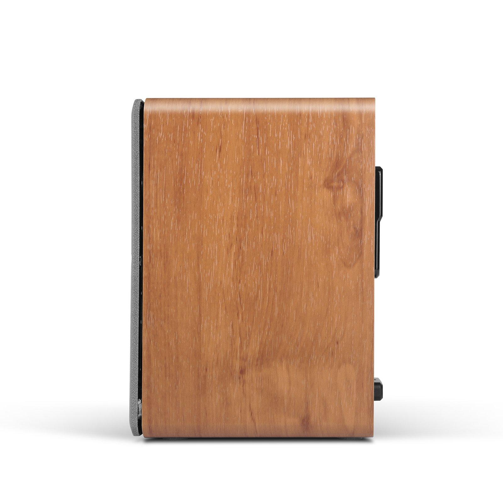 Edifier P12 Passive Bookshelf Speakers - 2-Way Speakers with Built-in Wall-Mount Bracket - Wood Color, Pair by Edifier (Image #2)