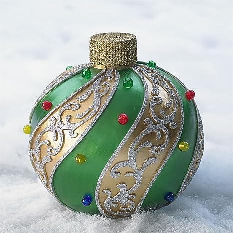 brylanehome medium pre lit outdoor ornament gold green0