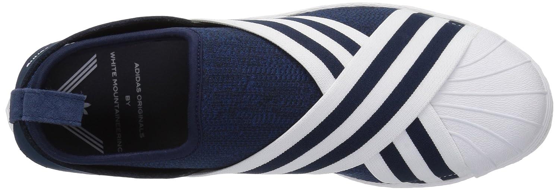 Adidas Originals Men's WM Superstar Superstar Superstar Slip on PK, Conavy,Ftwwht,Ftwwht, 11.5 Medium US ad9e43