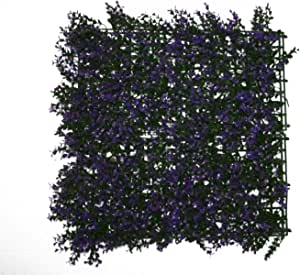 Artificial wall plant size 50 by 50 cm purple outdoor