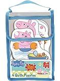 Peppa Pig 4 bain moussant temps Puzzles