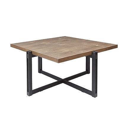 Silverwood FT1275 COF SWO Dakota Coffee Table With Square Top, 39u0026quot; L
