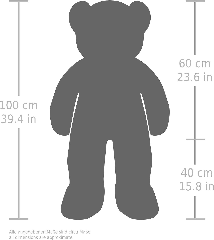 Brubaker Orsacchiotto XXL 100 cm Rosa - Orso Orsetto Morbido Gigante Marrone