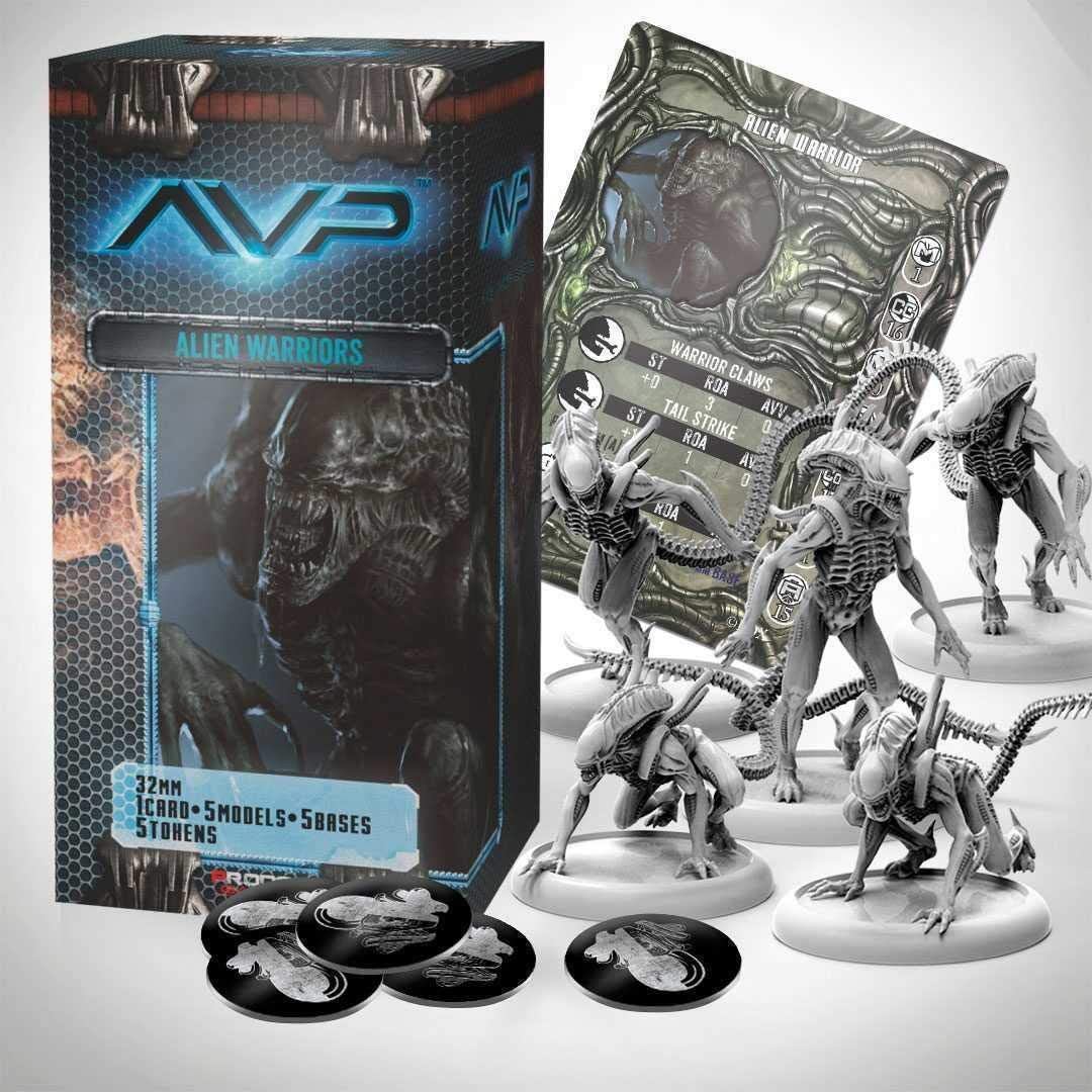 Alien Vs Predator Juego de Mesa The Hunt Begins Expansion Pack ...