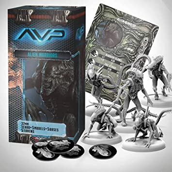 Alien Vs Predator Juego de Mesa The Hunt Begins Expansion Pack Alien Warriors *Edición Inglés*: Amazon.es: Juguetes y juegos