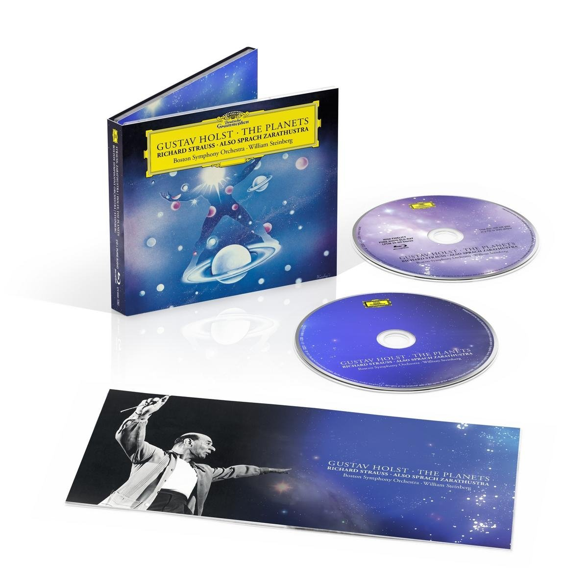 CD : WILLIAM STEINBERG/BOSTON SYMPHONY ORCHESTRA - Planets / Strauss,r: Also Sprach Zarathustra (With Blu-Ray Audio, Digipack Packaging, 2PC)