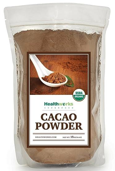 Amazon Com Healthworks Cacao Powder Organic From Criollo Beans