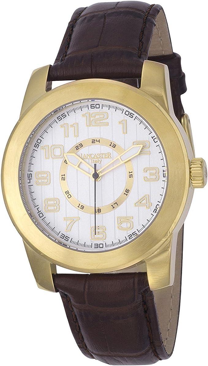 Lancaster Reloj ola0636l/YG/BN/Señor Hombre [Regular Importados]: Amazon.es: Relojes