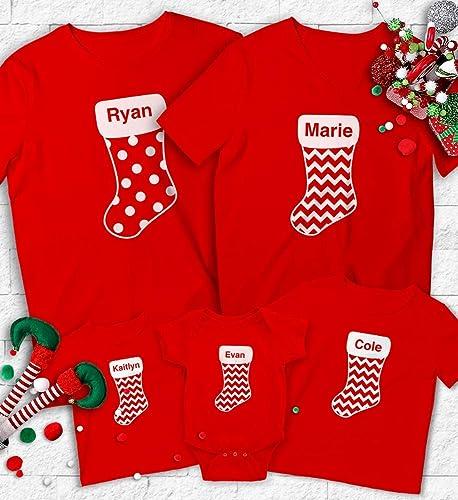 5f685e0639699 Amazon.com  Christmas Family Shirts