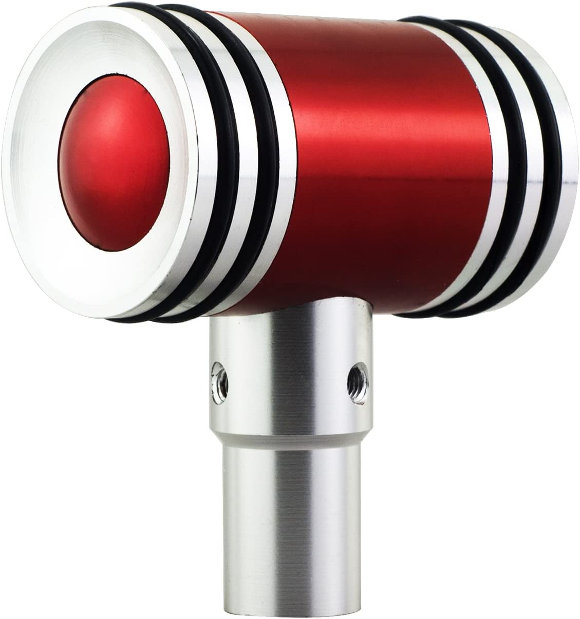 Mavota Red 5 Speed Leathe Car Accessory Gear Stick Shift Shift Knobs Universal Fit for Most Manual Transmission Vehicles