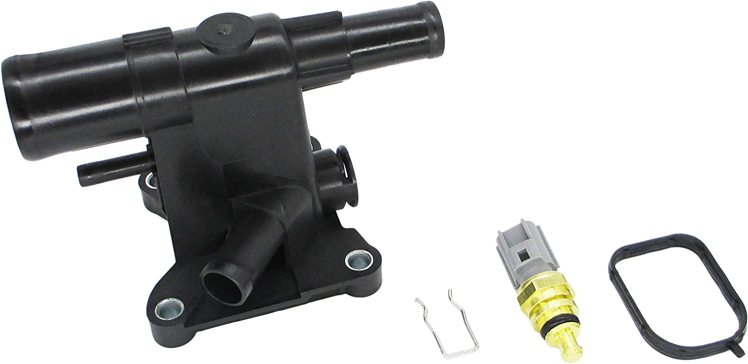OKAY MOTOR Radiator Water Outlet for 2012-2018 Ford Focus 2.0L L4 CP9Z8K556B