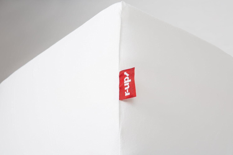 /S/ábana Bajera r-up Cabe/ 140/x 200//–/160/x 200/hasta 35/cm de Altura Muchos Colores 100/% algod/ón 130/g//m/², certificaci/ón /Öko-Tex stressfrei, 100/% algod/ón, Negr