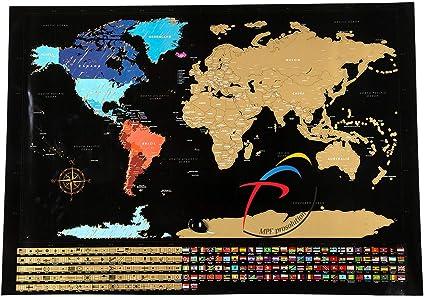 Cartina Mondo Gratta.Mappa Del Mondo Da Grattare Mpfpro Solution Mappa Da Grattare Mappa Mondo Da Grattare Grande Planisfero Da Grattare Gratta I Posti Dovesei Stato Poster Muro Da Grattare 82 5x59 4cm Amazon It Cancelleria E Prodotti