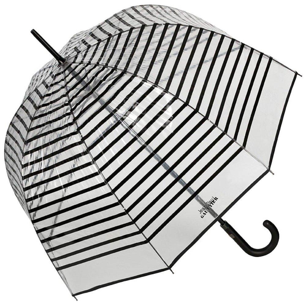 VON LILIENFELD Jean Paul Gaultier Regenschirm transparent Damen Herren Aris