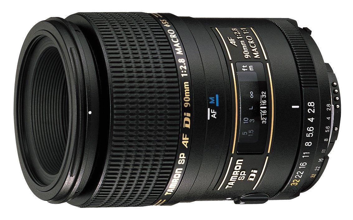 Amazon.com : Tamron AF 90mm f/2.8 Di SP A/M 1:1 Macro Lens for ...