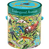 Mudpuppy Endangered Animals 63 Piece Puzzle