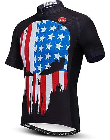 55c74c6c9 Men's Cycling Jersey Short Sleeve Bike Clothing Multicolored Diamond
