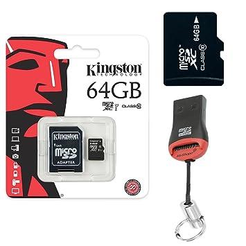 Original Kingston 64 GB microSD tarjeta de memoria SDHC 64 ...