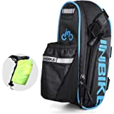 INBIKE Waterproof Bicycle Rear Seat Saddle Bag with Water Bottle Pouch Bike Accessory