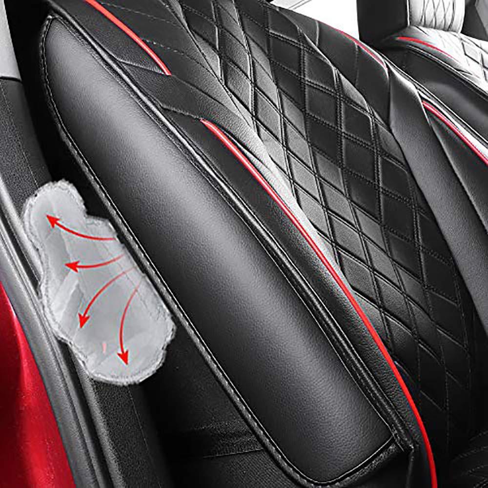 Vordersitzbezug Autoinnenraum Auto Zubeh/ör Automotive Stuhl Protector Fall 2 St/ücke F/ür Brava Bravo Panda Seicento Strada Tipo Freemont Linea Marea Palio
