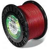 Power Pro Spectra Fiber Braided Fishing Line, Vermilion Red, 1500YD/30LB
