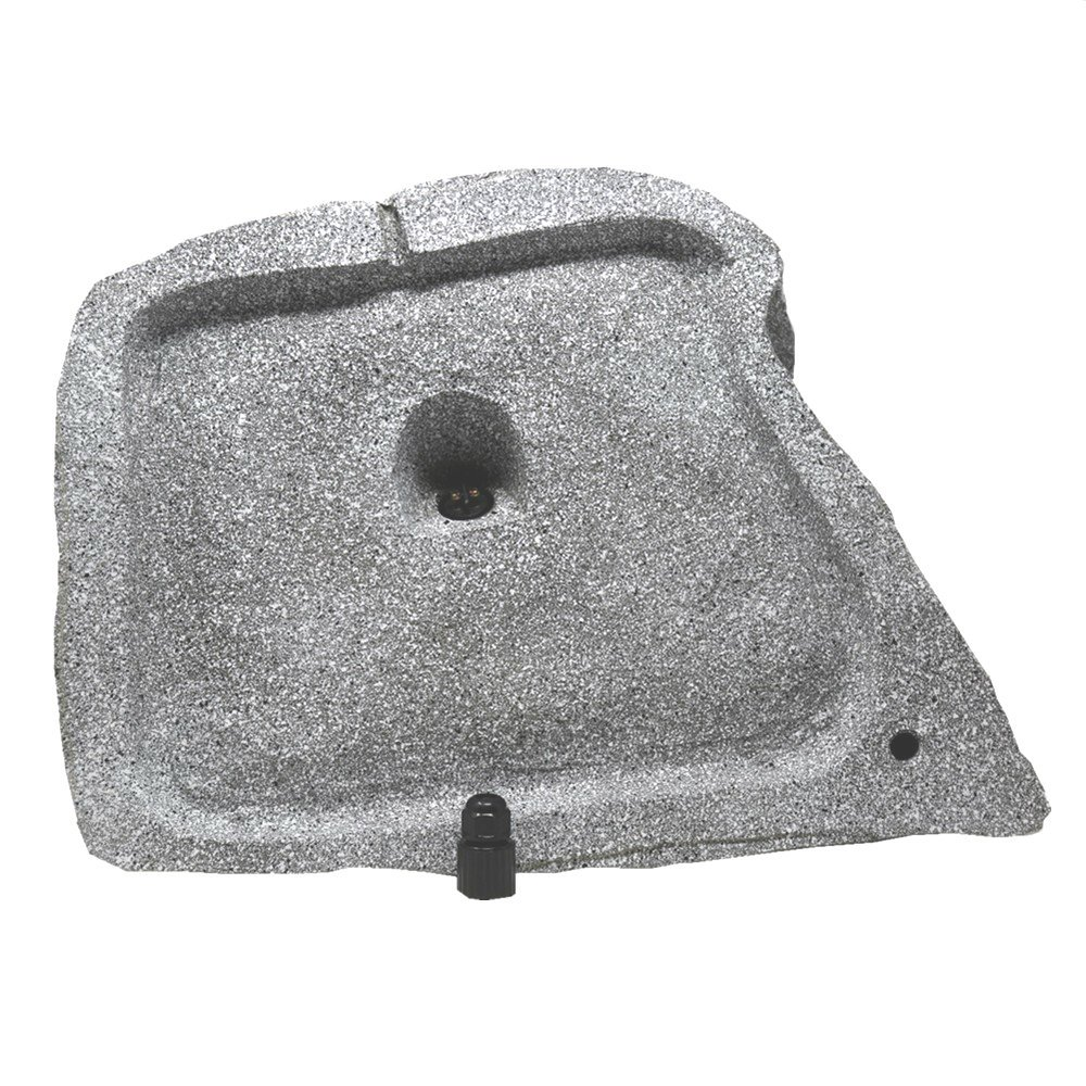 TIC TFS10-WG 8'' Professional Outdoor Weather-Resistant Coaxial Rock Speaker (White Granite) by TIC (Image #3)