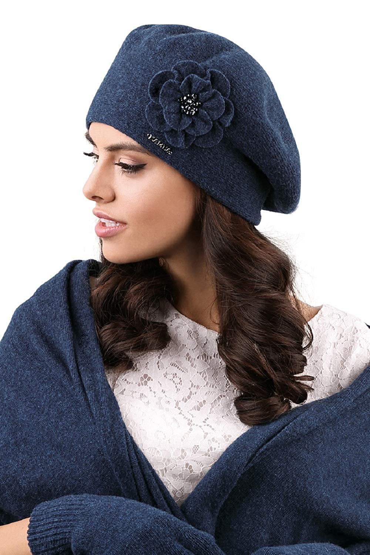 Cappello con sciarpa abbinata Kamea colori diversi Set invernale Vicenza