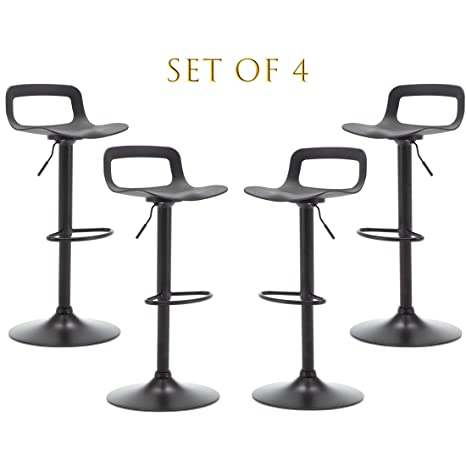 Excellent Amazon Com Thksbought Set Of 4 Modern Bar Stools Simple Beatyapartments Chair Design Images Beatyapartmentscom