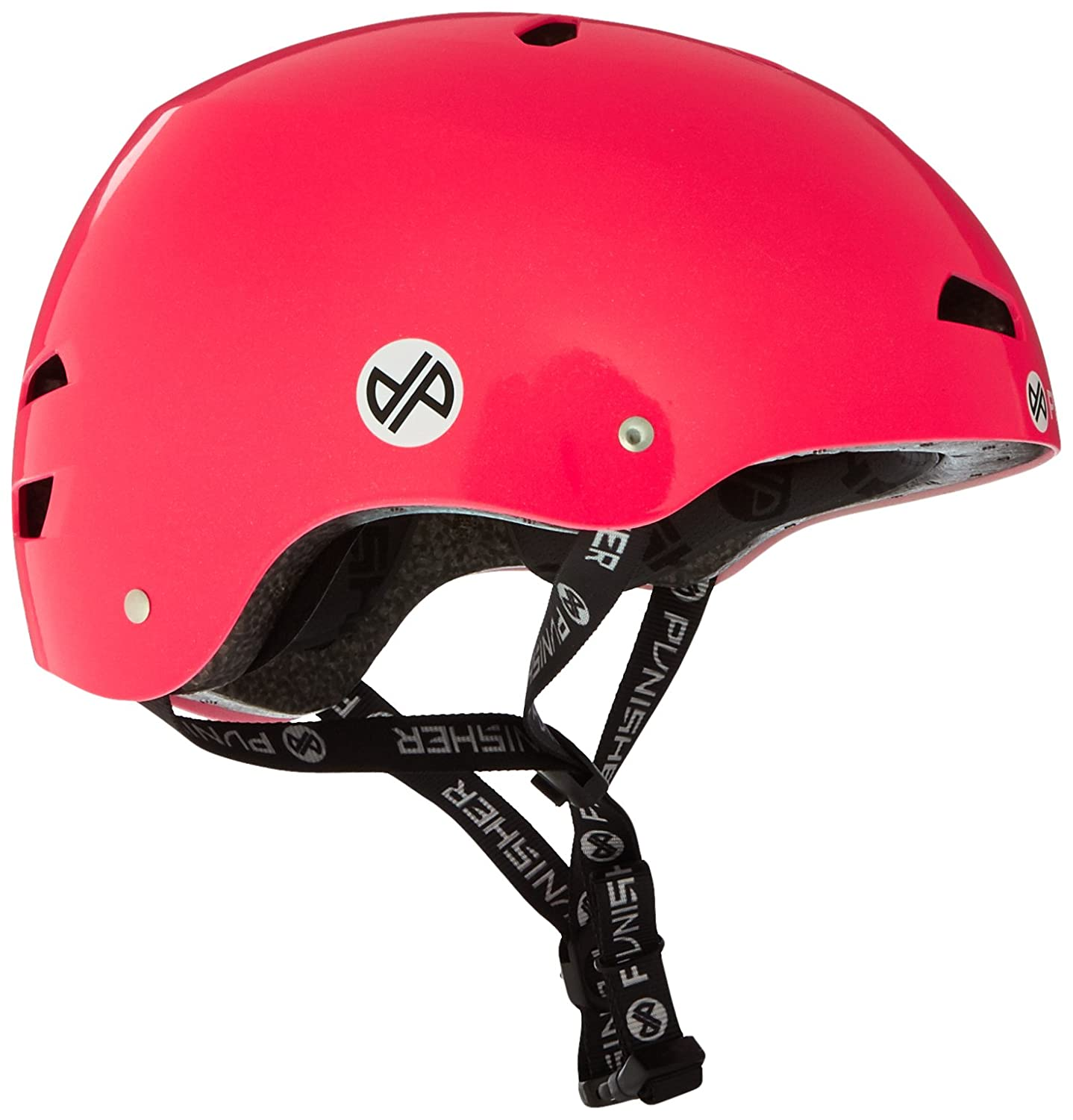 Punisher Skateboards Pro Series 13-Vent Dual Safety Certified BMX Bike and Skateboard Helmet Youth//Teen 9+