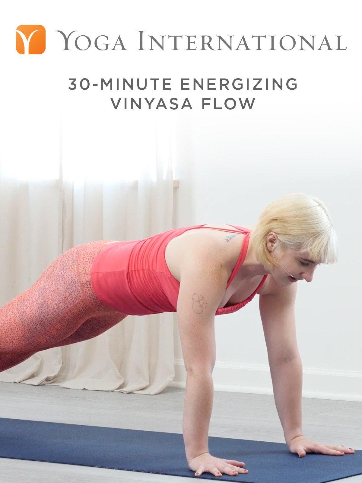 30-Minute Energizing Vinyasa Flow on Amazon Prime Video UK
