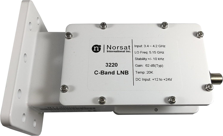 c band lnb circuit diagram amazon com norsat lnb 3220 c band pll home audio   theater  amazon com norsat lnb 3220 c band pll